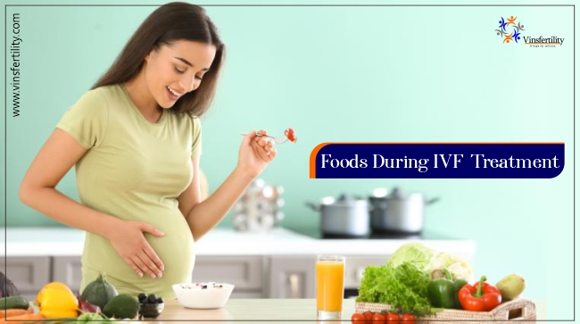 FOOD DIET DURING IVF TREATMENT